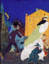 Lyonel Feininger's Carnival