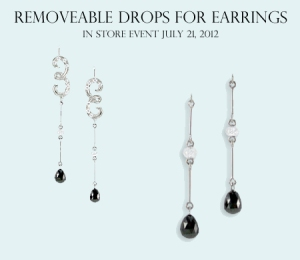 Drop Party: Removable Drops for Earrings