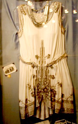 Flapper Style Wedding Gown c. 1927