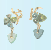 Tradewinds Series Earrings by Eve J. Alfille