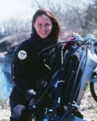 Award winning educator and marine biologist Michelle Hoffman