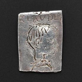 Claude Picasso's Portrait