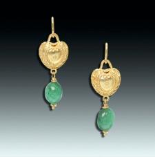 Etruscan earrings